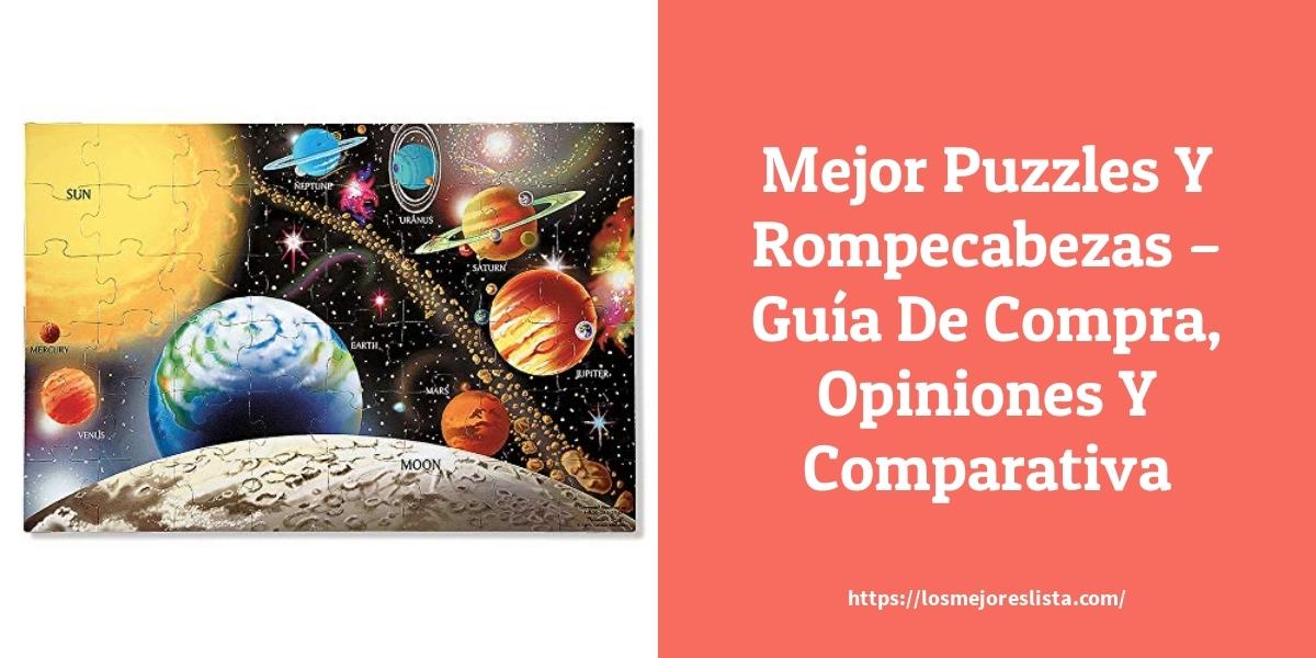 Mejor Puzzles Y Rompecabezas – Guía De Compra, Opiniones Y Comparativa