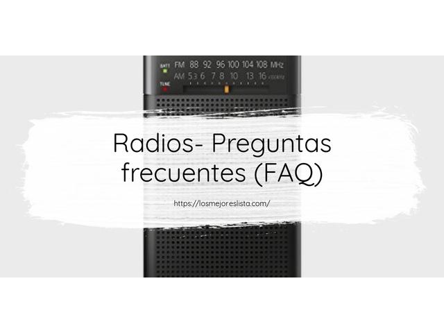 Mejor Radios – Guía De Compra, Opiniones Y Comparativa