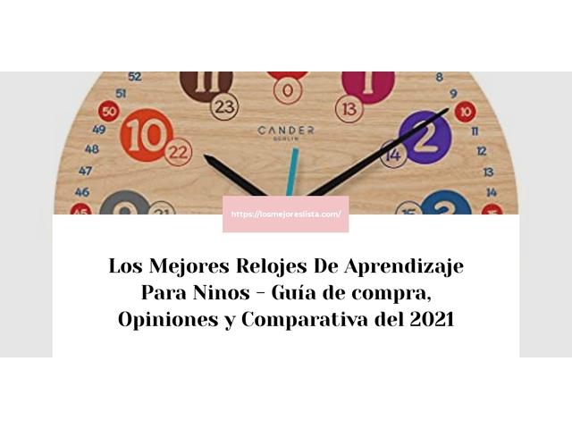 Mejor Relojes De Aprendizaje Para Niños – Guía De Compra, Opiniones Y Comparativa