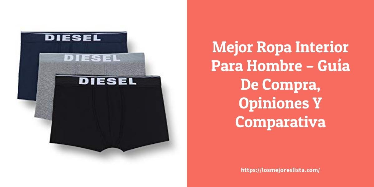 Mejor Ropa Interior Para Hombre – Guía De Compra, Opiniones Y Comparativa