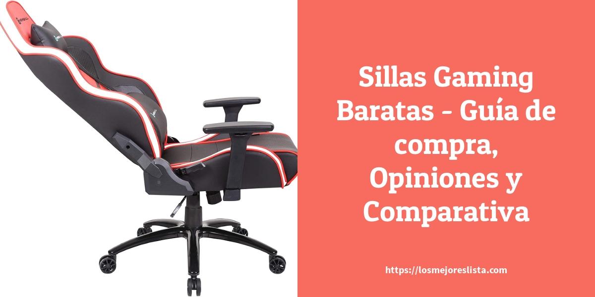 Sillas Gaming Baratas Guía de compra Opiniones y Comparativa