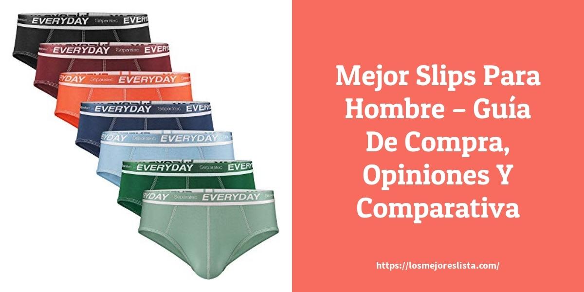 Mejor Slips Para Hombre – Guía De Compra, Opiniones Y Comparativa