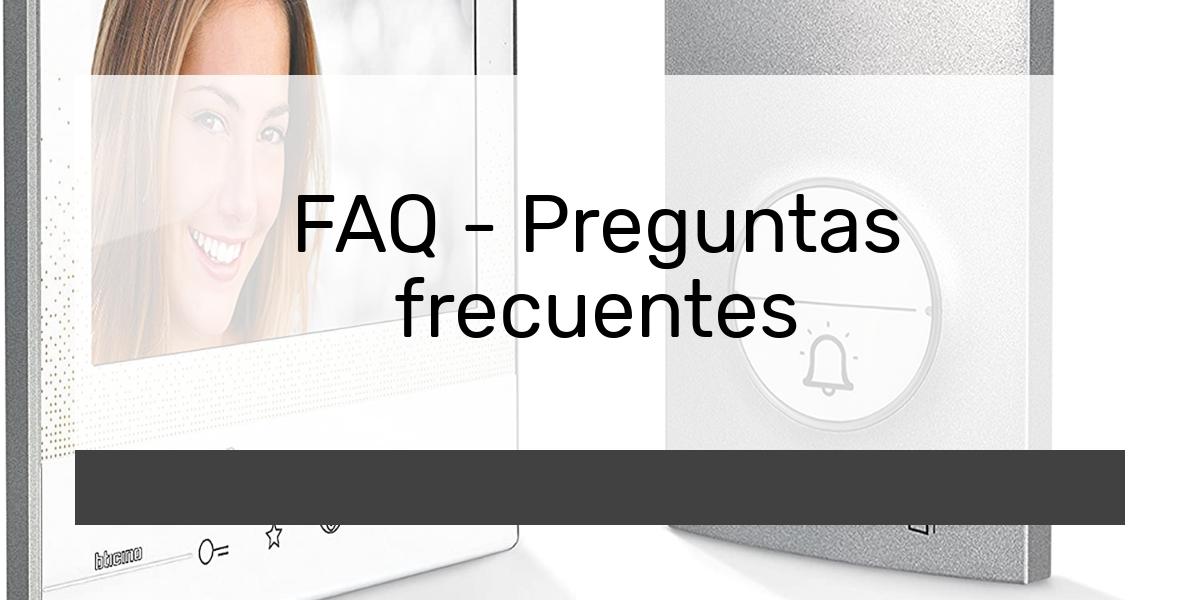 FAQ - Preguntas frecuentes