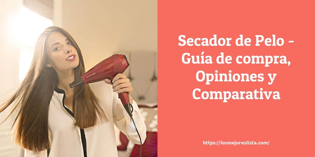Secador de Pelo Guía de compra Opiniones y Comparativa