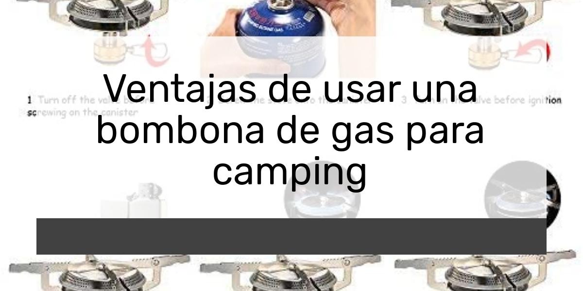 ¿Cuál es el mejor camping gas del 2021?