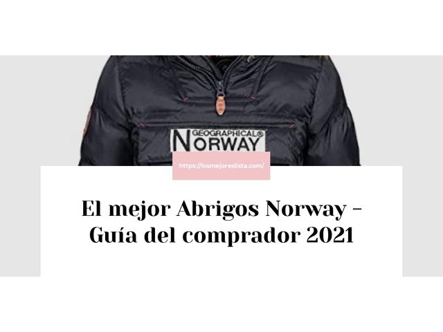 Los Mejores Abrigos Norway – Guía de compra, Opiniones y Comparativa del 2021 (España)
