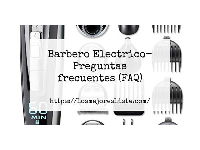 Los Mejores Barbero Electrico – Guía de compra, Opiniones y Comparativa del 2021 (España)
