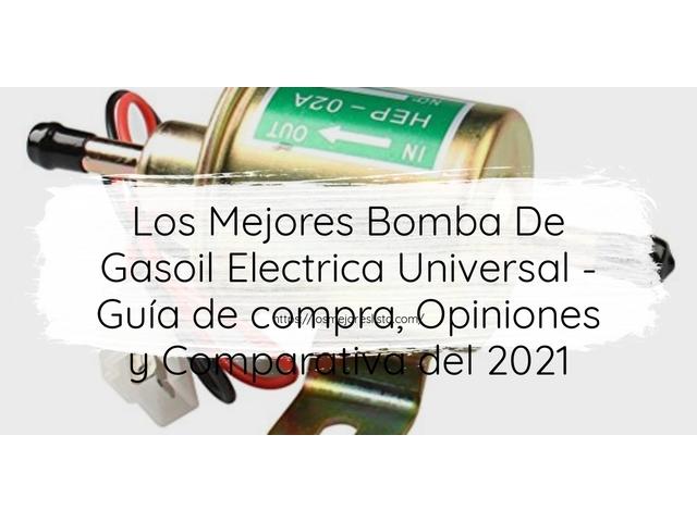 Los Mejores Bomba De Gasoil Electrica Universal – Guía de compra, Opiniones y Comparativa del 2021 (España)