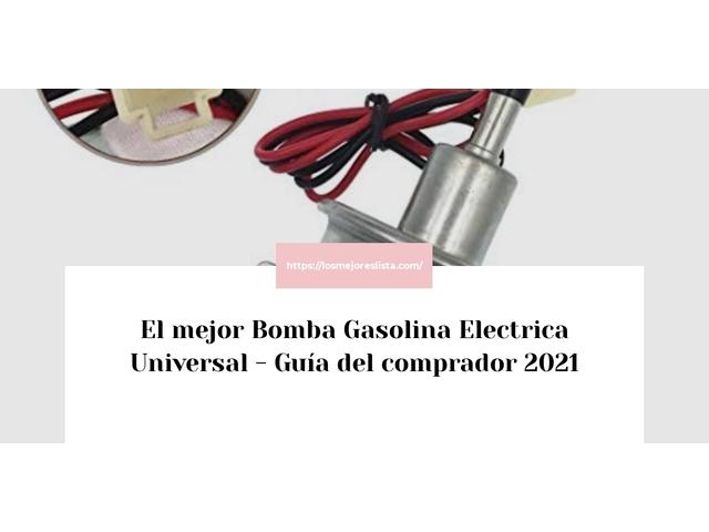 Los Mejores Bomba Gasolina Electrica Universal – Guía de compra, Opiniones y Comparativa del 2021 (España)