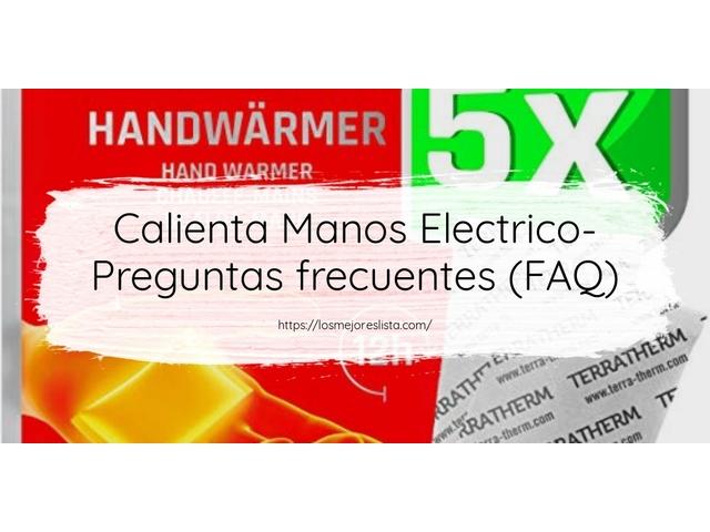 Los Mejores Calienta Manos Electrico – Guía de compra, Opiniones y Comparativa del 2021 (España)