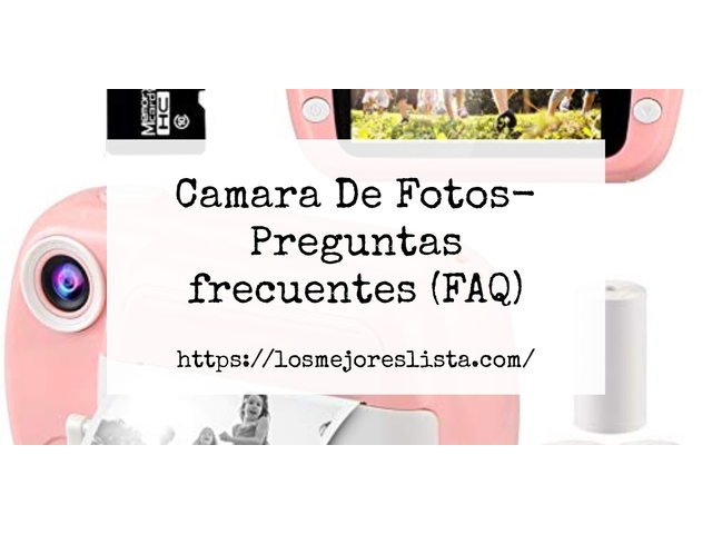 Los Mejores Camara De Fotos – Guía de compra, Opiniones y Comparativa del 2021