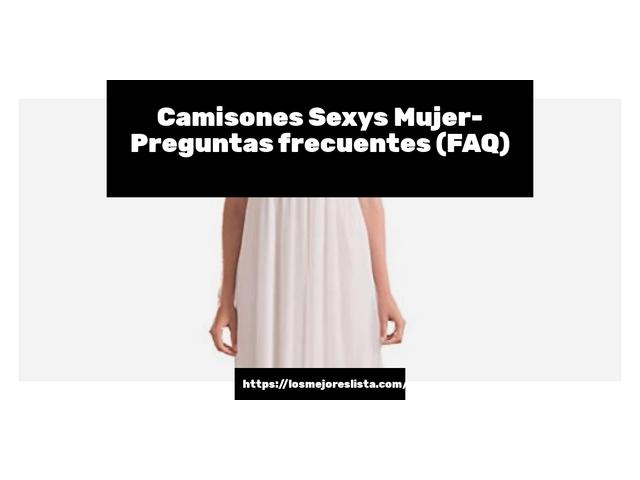 Los Mejores Camisones Sexys Mujer – Guía de compra, Opiniones y Comparativa del 2021