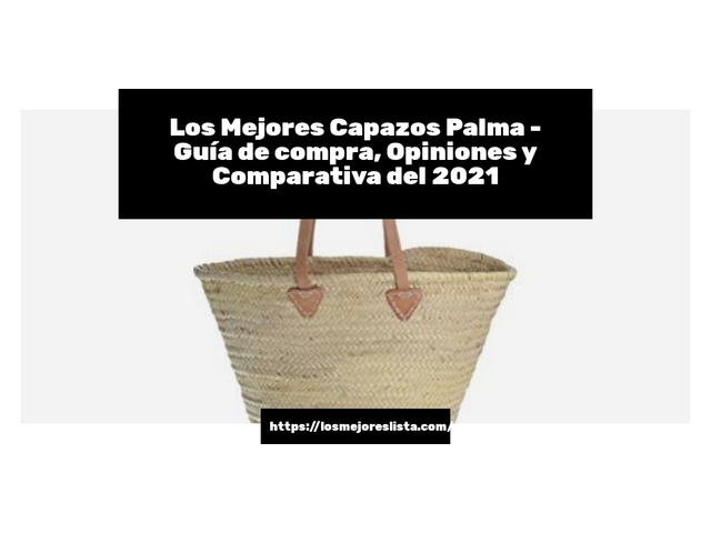 Los Mejores Capazos Palma – Guía de compra, Opiniones y Comparativa del 2021 (España)