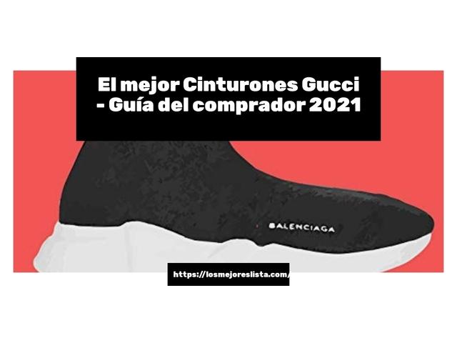 Los Mejores Cinturones Gucci – Guía de compra, Opiniones y Comparativa del 2021 (España)