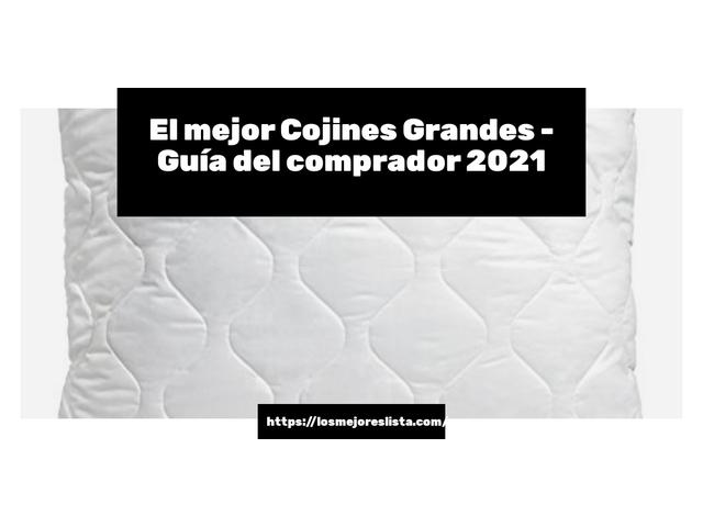 Los Mejores Cojines Grandes – Guía de compra, Opiniones y Comparativa del 2021 (España)