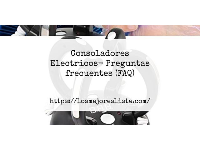 Los Mejores Consoladores Electricos – Guía de compra, Opiniones y Comparativa del 2021 (España)