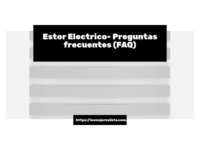 Los Mejores Estor Electrico – Guía de compra, Opiniones y Comparativa del 2021 (España)