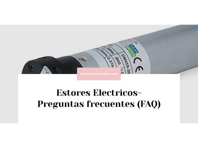Los Mejores Estores Electricos – Guía de compra, Opiniones y Comparativa del 2021 (España)