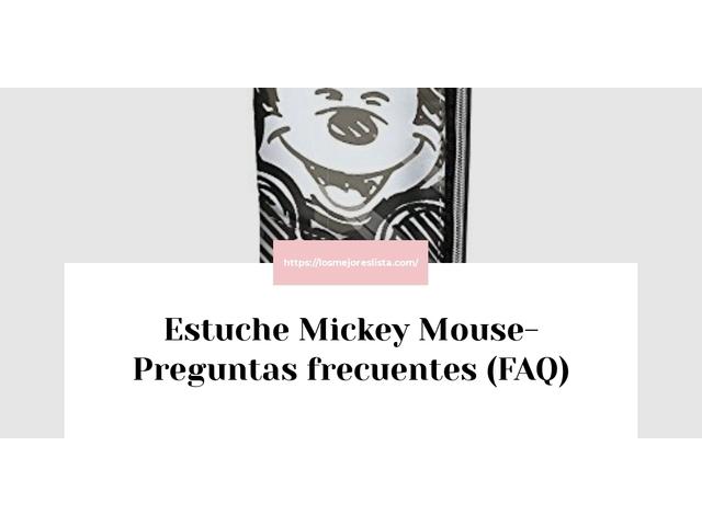Los Mejores Estuche Mickey Mouse – Guía de compra, Opiniones y Comparativa del 2021