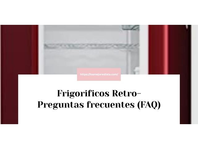 Los Mejores Frigorificos Retro – Guía de compra, Opiniones y Comparativa del 2021 (España)