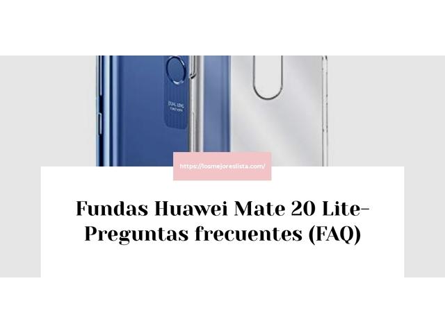 Los Mejores Fundas Huawei Mate 20 Lite – Guía de compra, Opiniones y Comparativa del 2021