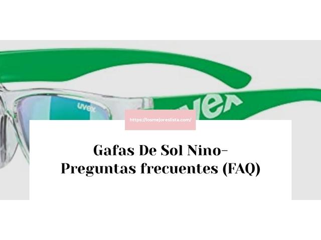 Los Mejores Gafas De Sol Nino – Guía de compra, Opiniones y Comparativa del 2021
