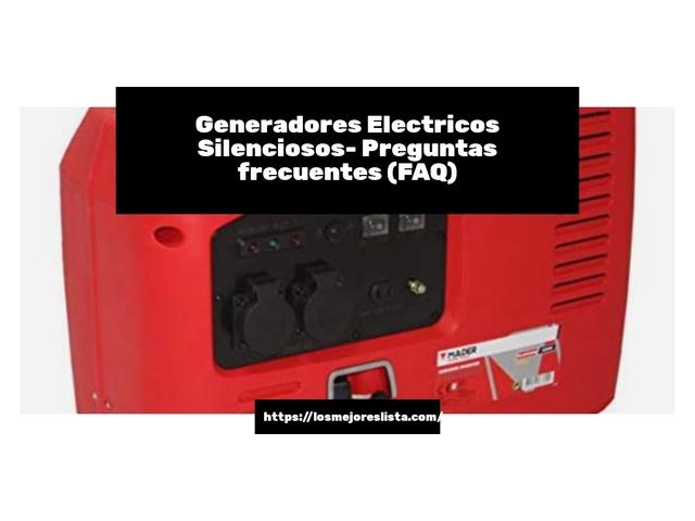 Los Mejores Generadores Electricos Silenciosos – Guía de compra, Opiniones y Comparativa del 2021 (España)