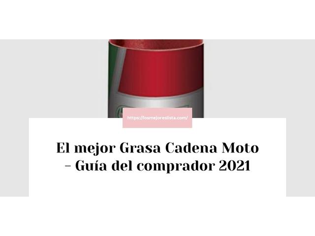 Los Mejores Grasa Cadena Moto – Guía de compra, Opiniones y Comparativa del 2021
