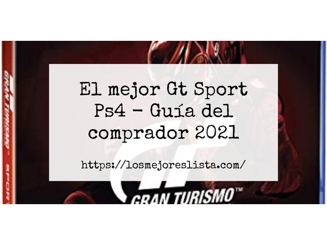 Los Mejores Gt Sport Ps4 – Guía de compra, Opiniones y Comparativa del 2021