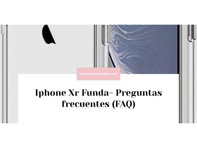 Los Mejores Iphone Xr Funda – Guía de compra, Opiniones y Comparativa del 2021