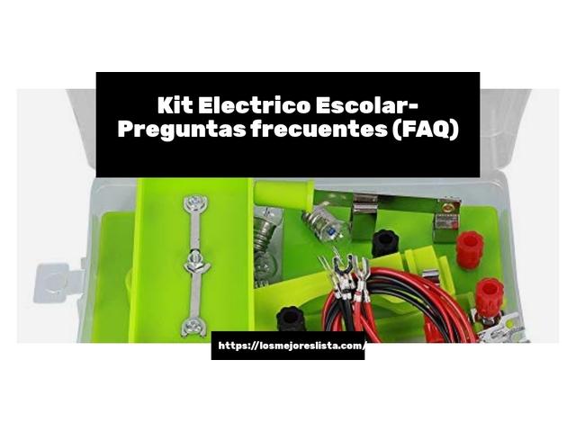 Los Mejores Kit Electrico Escolar – Guía de compra, Opiniones y Comparativa del 2021 (España)