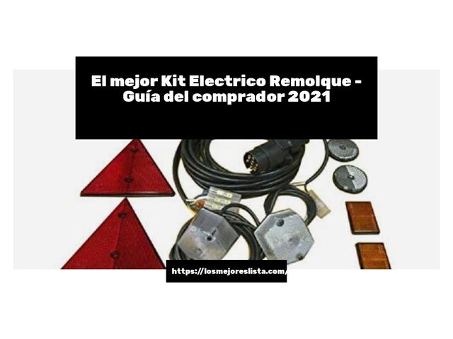 Los Mejores Kit Electrico Remolque – Guía de compra, Opiniones y Comparativa del 2021 (España)