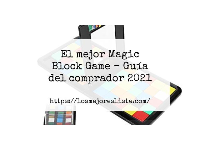 Los Mejores Magic Block Game – Guía de compra, Opiniones y Comparativa del 2021
