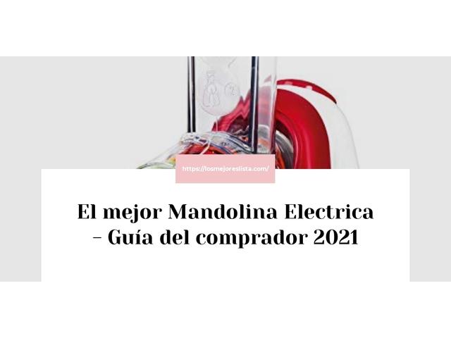 Los Mejores Mandolina Electrica – Guía de compra, Opiniones y Comparativa del 2021 (España)