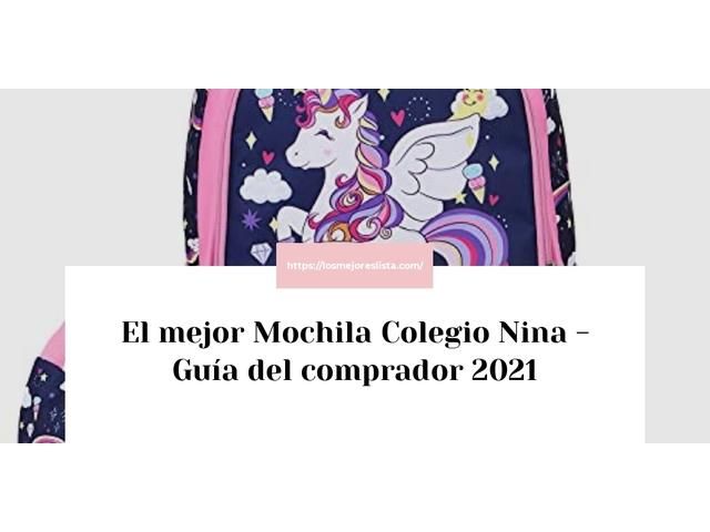 Los Mejores Mochila Colegio Nina – Guía de compra, Opiniones y Comparativa del 2021
