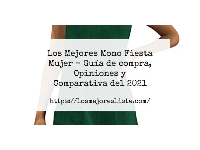 Los Mejores Mono Fiesta Mujer – Guía de compra, Opiniones y Comparativa del 2021
