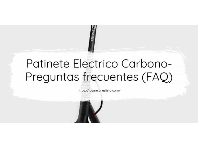 Los Mejores Patinete Electrico Carbono – Guía de compra, Opiniones y Comparativa del 2021 (España)