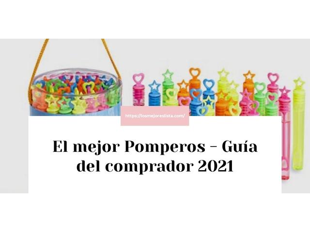 Los Mejores Pomperos – Guía de compra, Opiniones y Comparativa del 2021 (España)