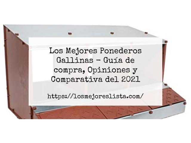 Los Mejores Ponederos Gallinas – Guía de compra, Opiniones y Comparativa del 2021 (España)