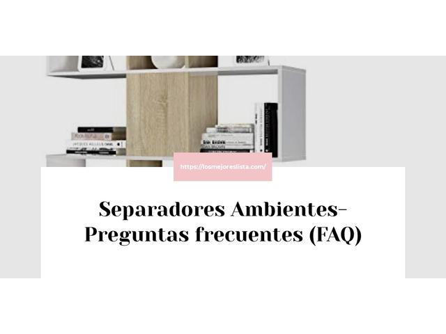 Los Mejores Separadores Ambientes – Guía de compra, Opiniones y Comparativa del 2021 (España)