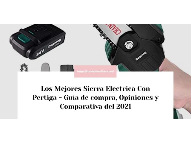 Los Mejores Sierra Electrica Con Pertiga – Guía de compra, Opiniones y Comparativa del 2021 (España)
