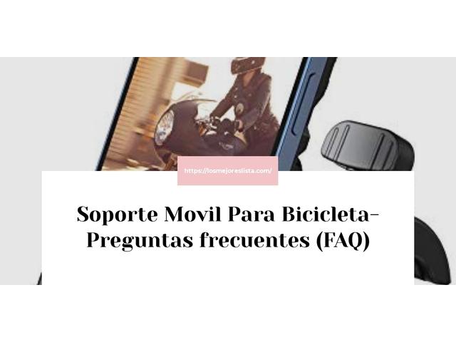 Los Mejores Soporte Movil Para Bicicleta – Guía de compra, Opiniones y Comparativa del 2021