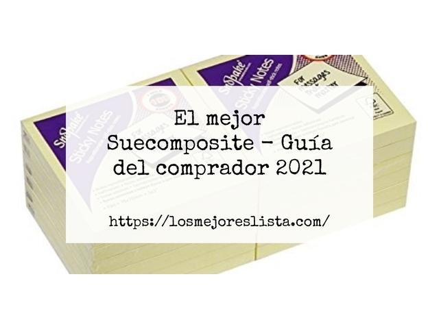 Los Mejores Suecomposite – Guía de compra, Opiniones y Comparativa del 2021 (España)