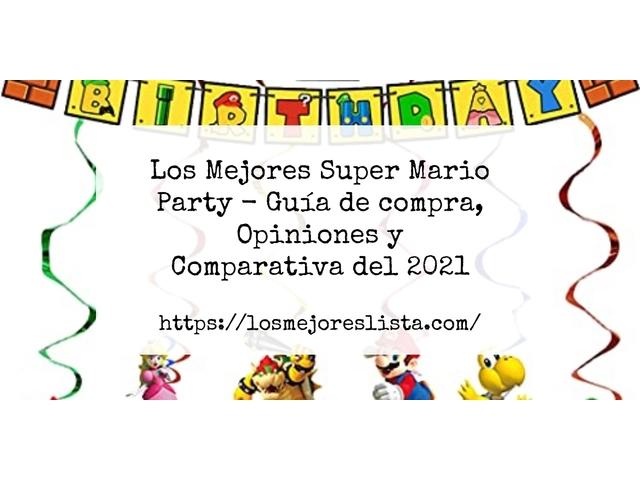 Los Mejores Super Mario Party – Guía de compra, Opiniones y Comparativa del 2021