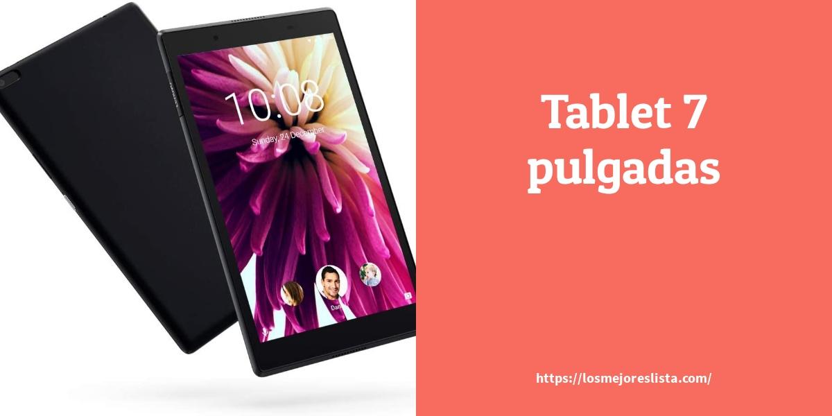 Mejores tablets pequeñas de 7 pulgadas