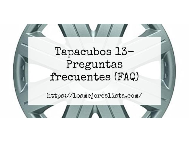 Los Mejores Tapacubos 13 – Guía de compra, Opiniones y Comparativa del 2021 (España)
