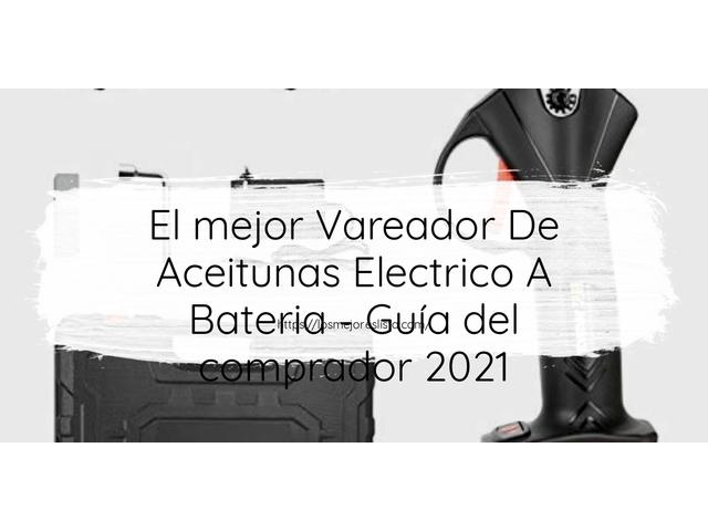 Los Mejores Vareador De Aceitunas Electrico A Bateria – Guía de compra, Opiniones y Comparativa del 2021 (España)