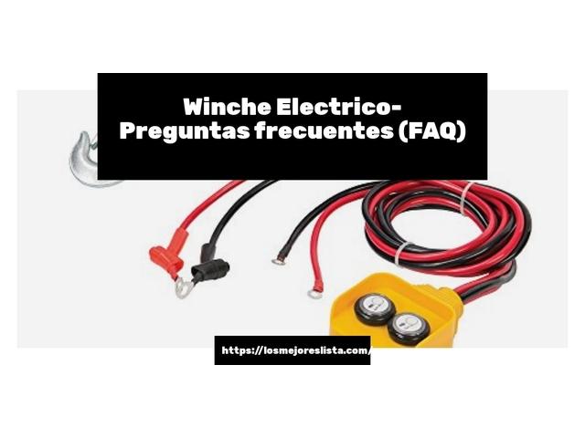 Los Mejores Winche Electrico – Guía de compra, Opiniones y Comparativa del 2021 (España)