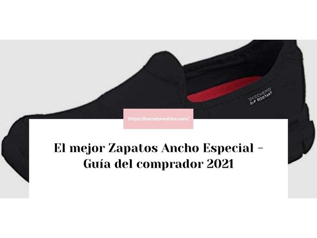 Los Mejores Zapatos Ancho Especial – Guía de compra, Opiniones y Comparativa del 2021 (España)