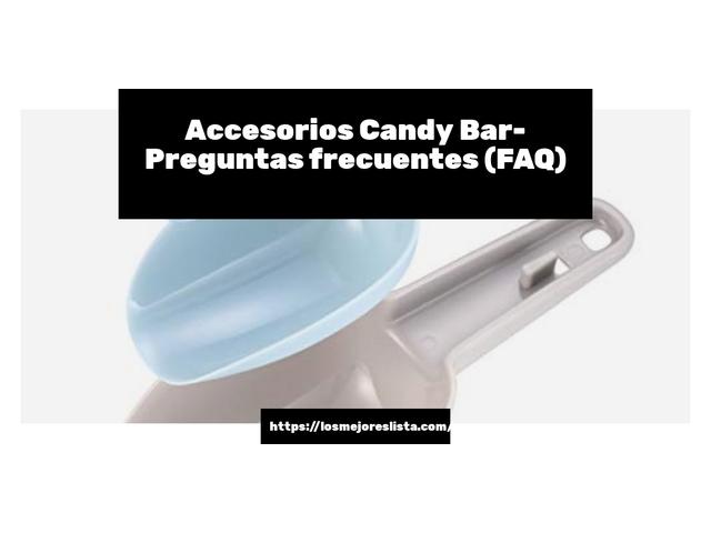 Los Mejores Accesorios Candy Bar – Guía de compra, Opiniones y Comparativa del 2021 (España)